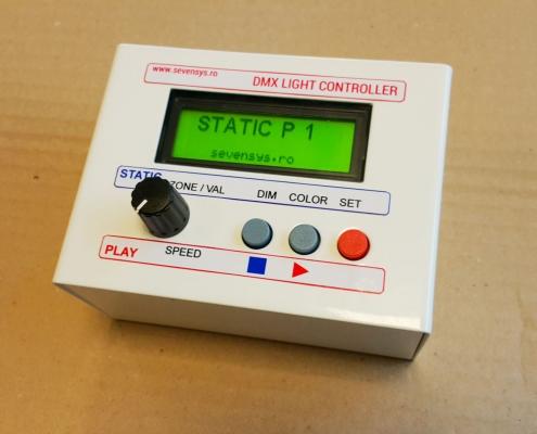 Controllerul PLC-113M16 pentru lumini LED RGB