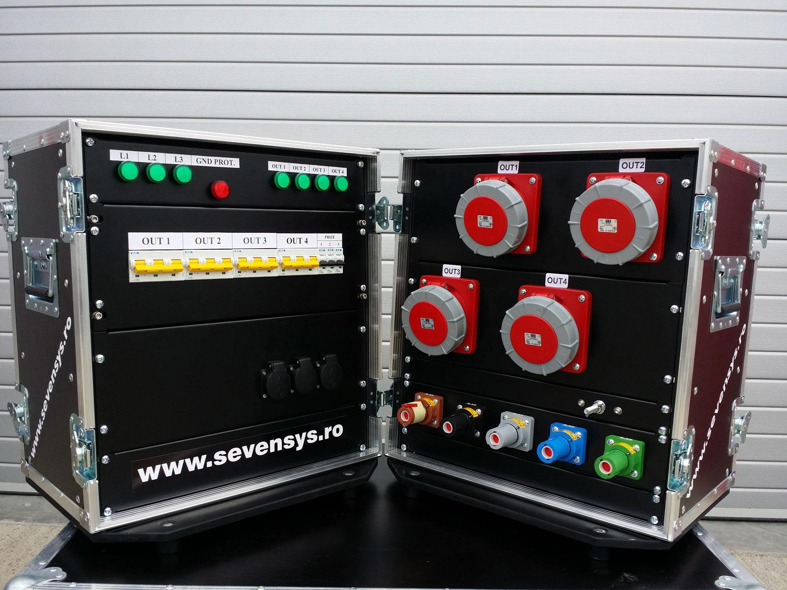 Distribuție trifazată de putere 400A PLCK-125A