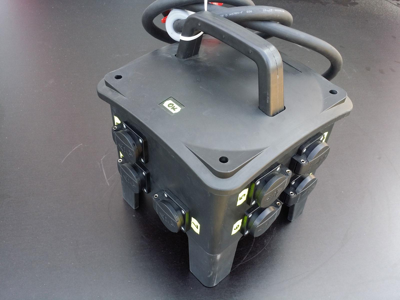 Distribuție trifazată 32ASCH-IP67